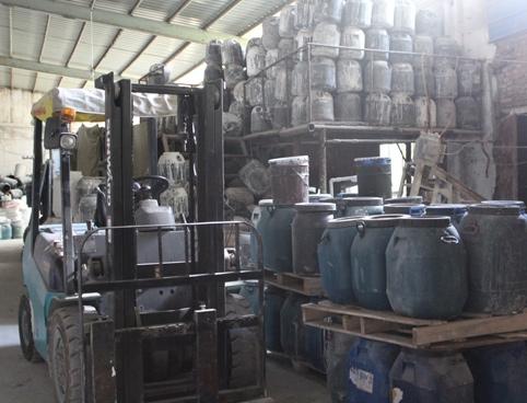 赣州多彩漆厂房